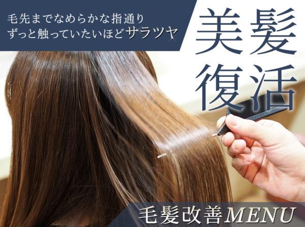 毛髪改善メニュー